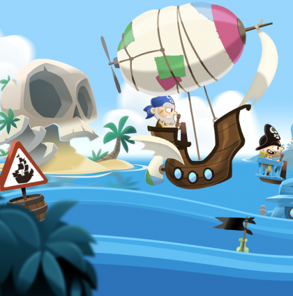 PirateRace – Fishing Cactus